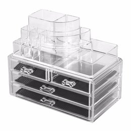 Acrylic Displays Cases Australia - Durable Transparrent Clear Acrylic Jewelry & Cosmetic Tips Dust-free Cotton Bud Storage Display Box Case 56