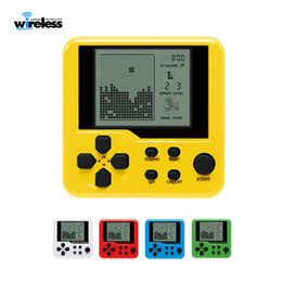 Wholesale Ultra-small mini Tetris Children handheld game console Portable LCD Players Children Toy Educational Electronic Toys classic