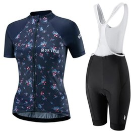 $enCountryForm.capitalKeyWord UK - Morvelo woman 2019 Cycling Bike Ciclismo Short Sleeve Jersey Top& (Bib) Shorts Team Clothing Set Quick dry Breathable