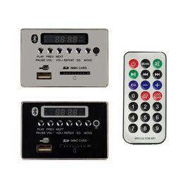12v audio board online shopping - 5 V LED Car Bluetooth Wireless MP3 WMA Decoder Board Audio Module USB SD TF Card FM Radio