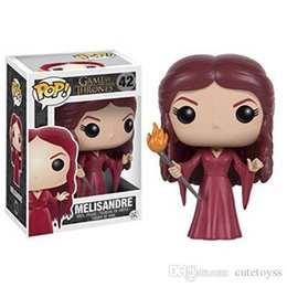 $enCountryForm.capitalKeyWord Australia - Pretty store Pretty Cute present Exclusive Pop Game Of Thrones - Melisandre Vinyl Action Figure With Box #42 Toy Gift Good Quality