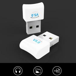 Bluetooth 5.0 adaptörleri USB Adaptör Adaptör Bilgisayar Ses Fırlatıcı Alıcı PC Dizüstü Yüksek Hızlı Kablosuz Verici Destek çoklu cihazlar