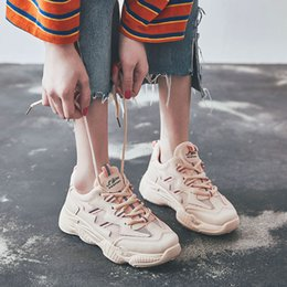 $enCountryForm.capitalKeyWord Australia - Leader Show Athletic Shoes For Woman Rubber Lace-up Trend Women Sneakers Brand Run Shoes Zapatillas Mujer 2019 Woman Light