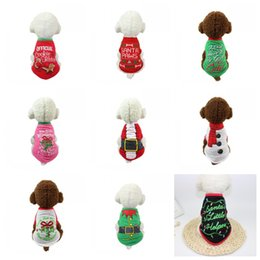 Wholesale kinder jacket for sale – custom New Creative Many Kinds Dog Clothes Keep Warm Christmas Multi Color Pet Supplies Eco Friendly Printing High Quality bf3
