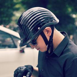 Xxl Motorcycle Half Helmets Australia - TT&CO vintage half helmet 1 2 helmet gourd cap summer motorcycle shell helmet
