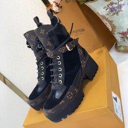 $enCountryForm.capitalKeyWord Australia - Laureate Platform Desert Boot Women Dress Shoes Comfortable Breathable Walking Tenis Luxurious Lady Booties Fashion Ankle Boots Womens Style