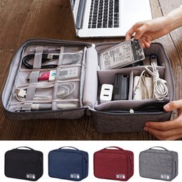 $enCountryForm.capitalKeyWord NZ - Electronics Accessories Organizer Travel Storage Hand Bag Cable USB Drive Case Data Cable Organizer Waterproof Storage Bags