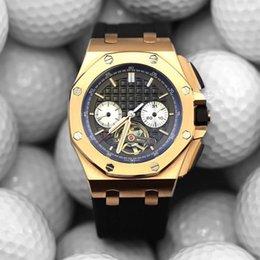 Watch silicone strap online shopping - luxury mens designer watches black rubber strap gold case automatic mechanical movement wristwatches montre de luxe pour hommes