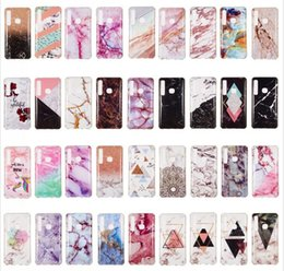 Discount j2 phones Marble Soft TPU IMD Case For Sony XZ3 Galaxy (A9 A7 J2 Pro J4 J6 P)2018 Nokia 7.1 Huawei Mate 20 Lite Pro Natural Stone
