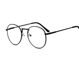 0d554f75728f Korean version of metal thin-rimmed spectacle frame circular men s and  women s literature and art spectacle frame retro-glasses