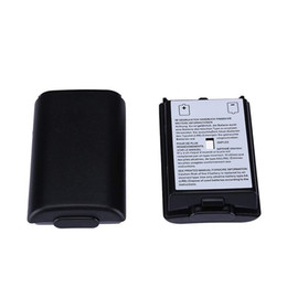 Wholesale Plastic Battery Cover Battery Pack Case Repair Part Replacement for Xbox 360