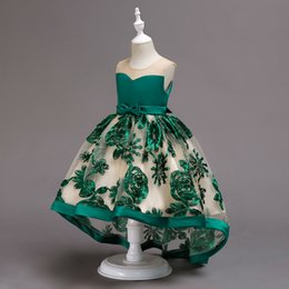 $enCountryForm.capitalKeyWord Australia - 2 to 10 years Girls embroidered bow dresses, summer holiday party Asymmetrical tutu dress, kids & teenager boutique clothing, R1AA806DS-47