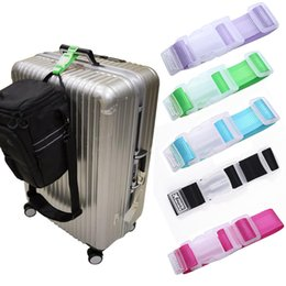 Wholesale Portable Adjustable Nylon Travel Luggage Bag Straps Travel Hanging Belt Buckle Straps Suitcase Lock Outdoor Accessories