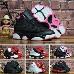 best service 81ae6 e4268 Nike air jordan 13 retro Designer bébé 13 enfants chaussures de basket-ball  de jeunes enfants athlétique 13s chaussures de sport pour garçon filles ...