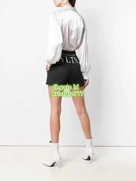 HigH end pant suits online shopping - High End Women Vintage Suit Shorts With Back Letter Print Mini Shorts Pants Girls Casual Regular Runway Female Malfile Shorts Trouser