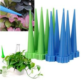 water cone 2021 - 10pcs pack Plant Water Automatic Watering Irrigation Spike Control Drip Sprinkler Cone Watering Tool Drip Irrigation A102