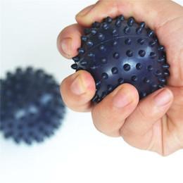 body massage roller 2019 - Hewolf Yoga Balls 7cm Spiky Point Massage Ball Roller Reflexology Stress Relief Body Massage Balls Pilates Yoga Sports F