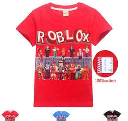 Girl Style Game Australia - 3 Style Boys Girls Roblox Stardust Ethical T-shirts 2019 New Children Cartoon Game cotton Short sleeve t shirt Baby kids clothing 5pcs