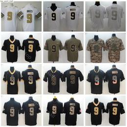 Usa flag jersey online shopping - New Orleans Football Saints Drew Brees Jerseys Men Vapor Untouchable Salute to Service USA Flag Shadow Hyphenation Black Camo White