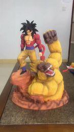 $enCountryForm.capitalKeyWord Australia - Dragon Ball Hero series Super Saiyan Son Goku Gorilla Male peripheral doll model toy statue 38cm