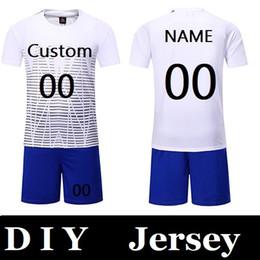 edbfd258198 Customize Men Professional Football Suits Sets New Season Team Soccer  Jersey Youth Training Football Uniform