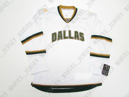 df2df331f Cheap custom DALLAS STARS VINTAGE PREMIER 7185 HOCKEY JERSEY stitch add any  number any name Mens Hockey Jersey XS-5XL
