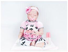 $enCountryForm.capitalKeyWord Australia - 22inches Silicone Lifelike Reborn Baby Doll Realistic Newborn Babies with Clothes Kids Playmate Best Birthday Xmas Gift