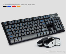 $enCountryForm.capitalKeyWord Australia - 4Colors English Letter 2.4G Wireless Keyboard Mouse Combo With USB Receiver For Desktop Computer PC Laptop And Smart TV