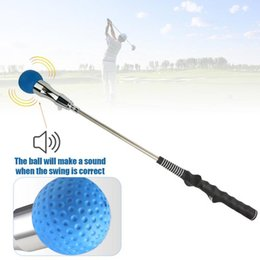 swing equipment NZ - Golf Swing Trainer with Vocal Ball Head Golf Training Aid Correction for Strength and Tempo Training Club Equipment
