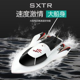 Toys Boats NZ - 10km h 27Mhz Rc Bait Boat Mini High Speed Remote Control Speedboat Kid Gift Electric RC Toys