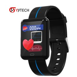 smartwatch smart watch android UK - SYYTECH 2019 New F5 Smart Watch Heart rate blood pressure monitoring Waterproof Sports Smart Bracelet Smartwatch