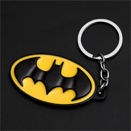superhero keychains UK - 17-style Avengers Superman Keychain Superhero S Logo Key Chain High Quality Keyring for Women Men Fans Jewelry 01 jssp01