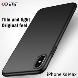 Matte Gold Iphone Case Australia - Apple mobile phone housing PC snap-on case Thin Light Anti-fall Matte Solid color hard shell for iphone XS iphone XS Max iP XR