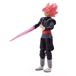 Free Goku Figures UK - 15cm Shf Dragon Ball Super: Goku Black Zamasu S.h. Figuarts Pvc Action Figure Collection Model Kids Toy Doll Free Shipping J190508