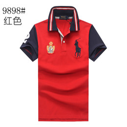 $enCountryForm.capitalKeyWord Australia - Polo ralph t shirts lauren mens polos brand men luxury shirts men designer clothing t shirts Embroidery Big mark top quality polos Crown 3