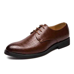 $enCountryForm.capitalKeyWord Australia - New Fashion Men Formal Oxford Shoe Genuine Cow Leather Business Shoe for Male Italian Design Solid Plus Size Dress Shoes SH2332765