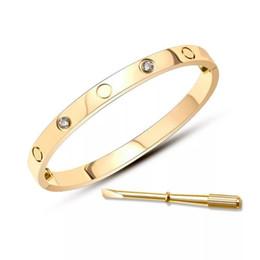 $enCountryForm.capitalKeyWord Australia - Popular fashion brand High version screw bangle bracelet for lady Design Women Party Wedding Lovers gift Luxury Jewelry for Bride With BOX