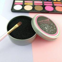 Make-up-Pinsel Reinigungsbox Make-up-Schwammbürsten Farbwechsel Reiniger Trockenwäsche Artefakte Schnellreinigung Kosmetik Saubere Werkzeuge RRA678