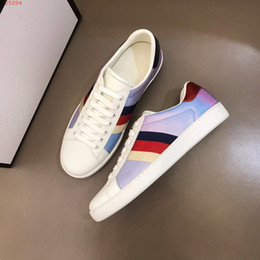 $enCountryForm.capitalKeyWord NZ - Sneakers Super Star Men Sport Casual Shoes Fashion stripe color matching Low help Korean trend casual shoes