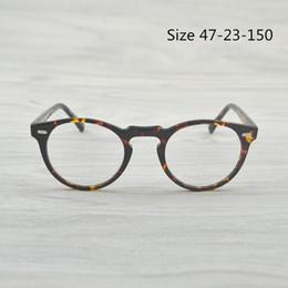 c384a70430c Optical Reading Glasses Frame OV5186 Oliver Peoples Men Women Gregory Peck  Retro Myopia Eyeglasses frame For Prescription Lenses