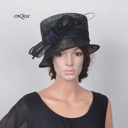 d13e9bcf NEW Black Elegant small brim sinamay hat Royal wedding hat bridal fascinator  w ostrich spine for Kentucky Derby