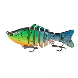 shad jigs UK - eBoLo ABS Snake New pencil Artificial Bait Wobbler Swimbait 10cm 15g head Plastic Freshwater Crankbait Big game Fishing wobbler Shad lures