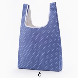 $enCountryForm.capitalKeyWord Australia - Durable Large Reusable Foldable Shopping Bags Oxford Cloth Storage Grocery Carry Bag Tote Bag Portable Shopping Travel Handbags