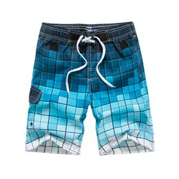 464e734c9d937 Beach shorts men swimwear liner mesh sweat swimming trunks siwmsuits  Surfing Short mens bathing suits quick dry surf bermuda