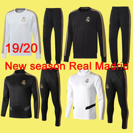 $enCountryForm.capitalKeyWord Australia - 19 20 new season Real Madrid soccer long sleeve HAZARD training suit 18 19 Isco MODRIC football jerseys Benzema Bale tracksuits suit