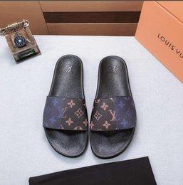 b17 baratos Melhor Homens Mulheres Sandals Deslize sapatos de luxo Moda Verão larga e plana Slippery Sandals BGUCCILVLouisvuitton venda por atacado