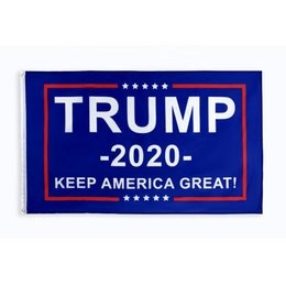 3x5 donald trump flags NZ - 8 designs direct factory 3x5 Ft 90*150 cm keep america great donald Trump Flag For 2020 President USA