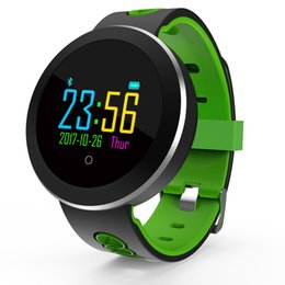 Q8 Smart Watch Australia - Smart Bracelet Q8 PRO Fitness Tracker Color Screen Pedometer Heart Rate And Blood Pressure Monitoring Smart Watch Green