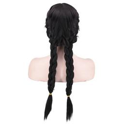 $enCountryForm.capitalKeyWord UK - Synthetic Double Twist Braid Hair Frozen Anna Cosplay Wig