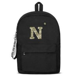 $enCountryForm.capitalKeyWord UK - Men Women Superior quality nylon Backpack Maryland Navy Midshipmen football camouflage logo design Printed Travel Daypack Bookbag free sh